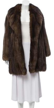 Ben Kahn Short Sable Fur Coat