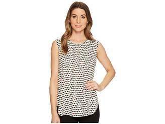 Nic+Zoe Checked Out Tank Top Women's Sleeveless