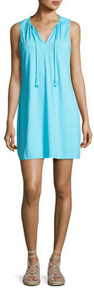 Tommy Bahama Pearl Solid Sleeveless Spa Dress $118 thestylecure.com