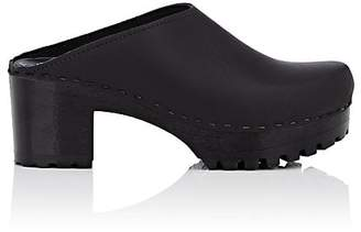 NO.6 Women's Leather Clogs