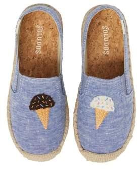 Soludos Ice Cream Embroidered Espadrille