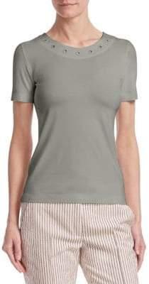 Akris Punto Eyelet T-Shirt