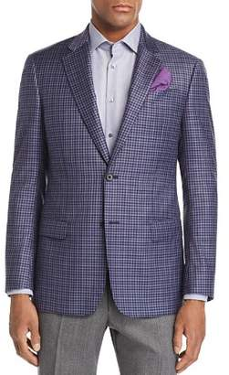 Emporio Armani Plaid Regular Fit Jacket