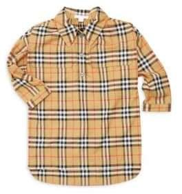 Burberry Little Girl's& Girl's Maryalice Cotton Shirtdress