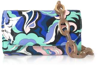 Emilio Pucci (エミリオプッチ) - Emilio Pucci Optical Printed Leather Cosmetic Case/pouch
