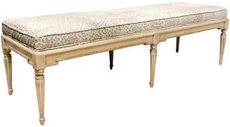 One Kings Lane Vintage Hickory French-Style Bench - Von Meyer Ltd.