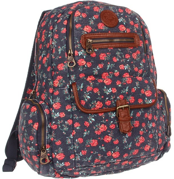 Roxy Ship Out Backpack (Topez) - Bags and Luggage