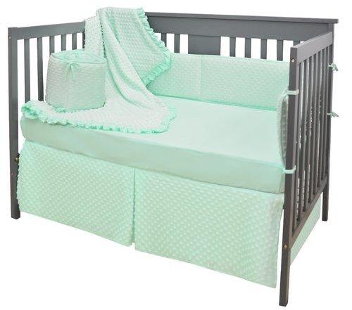 American Baby CompanyAmerican Baby Company Heavenly Soft 4 Piece Crib Bedding Set