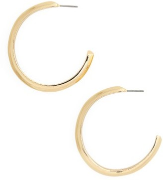 Women's Nordstrom Hoop Earrings $29 thestylecure.com