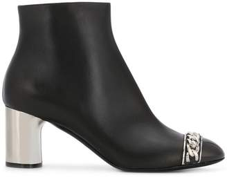 Casadei chain toe ankle boots