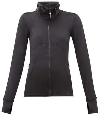 adidas by Stella McCartney Climaheat Reflective Running Jacket - Womens - Black