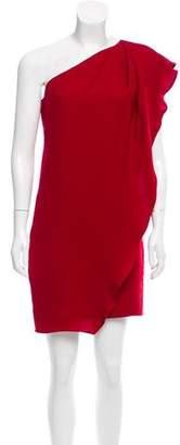 Mark & James by Badgley Mischka by Badgley Mischka One-Shoulder Mini Dress