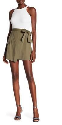 Rachel Roy Utility Wrap Skirt