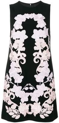 Dolce & Gabbana floral embroidered shift dress