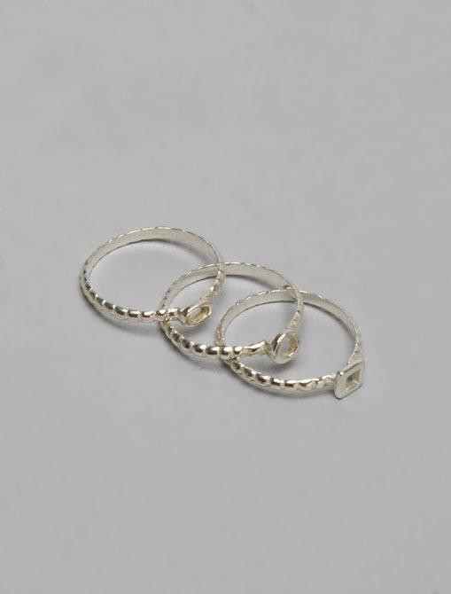 Gorjana Tress Stackable Rings