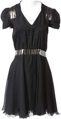 Maxime Simoens Black Silk Dress for Women