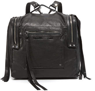 McQ - Alexander McQueen Convertible Box Backpack $665 thestylecure.com