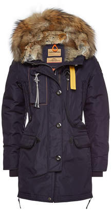 Parajumpers Kodiak Down Parka with Fur Trimmed Hood