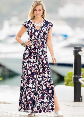 Together Frill Sleeve Maxi