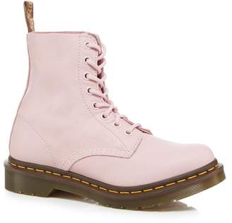 Dr. Martens Black & Pink Pedule Boots HMUGAin