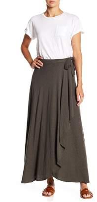 Susina Knit Maxi Wrap Skirt (Regular & Petite)