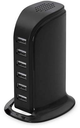 LAX Gadgets 6-Port Usb Desktop Charging Station