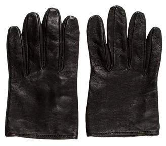 Valentino Short Leather Gloves w/ Tags