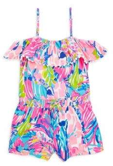 Lilly Pulitzer Toddler's, Little Girl's & Girl's Leonie Romper