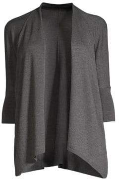 Eileen Fisher Oversized Open Front Cardigan
