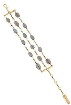 H.Stern Multistrand Moonstone Bracelet