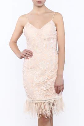 Minuet Ruffling Feathers Dress