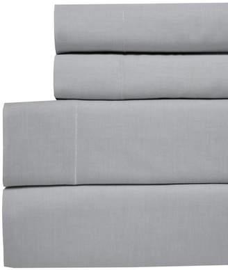 Westport Yarn Dyed Chambray California King 4-pc Sheet Set, 200 Thread Count 100% Cotton Bedding