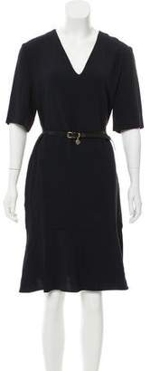 Stella McCartney Belted Midi Dress