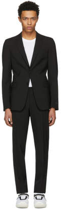 Prada Black Wool Suit