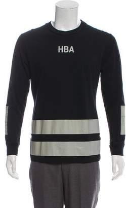 Hood by Air Lightweight Graphic Sweatshirt