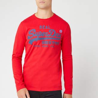 Superdry Men's Vintage Logo 1st Duo Long Sleeve T-Shirt