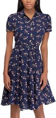 Chaps Women's Print Shirt Dress