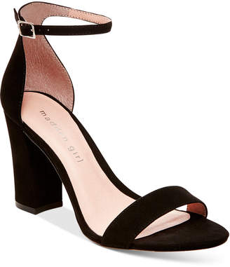 Madden Girl Bella Two-Piece Block Heel Sandals $49 thestylecure.com