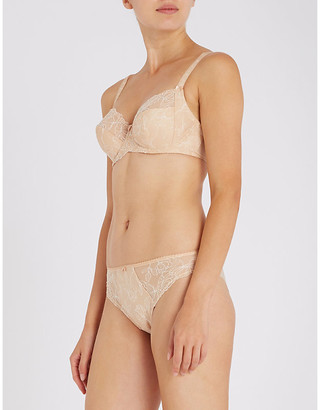 Fantasie Estelle floral-lace underwired full-cup bra