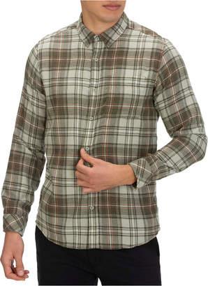 Hurley Men Vedder Washed Plaid Shirt