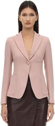 L'Autre Chose Wool Crepe Jacket