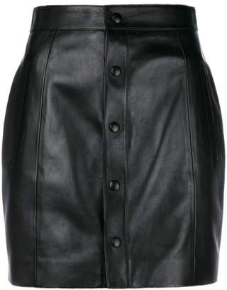 Saint Laurent fitted buttoned up skirt