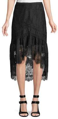 Alice + Olivia Triss A-Line High-Low Skirt
