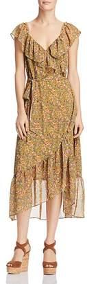Rebecca Minkoff Jessica Ruffled Floral-Print Dress