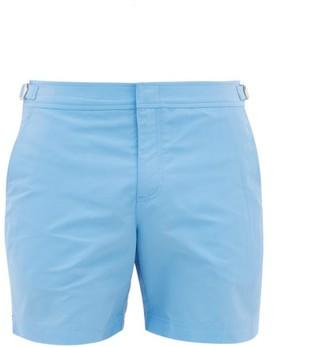 Orlebar Brown Bulldog Mid Length Swim Shorts - Mens - Light Blue