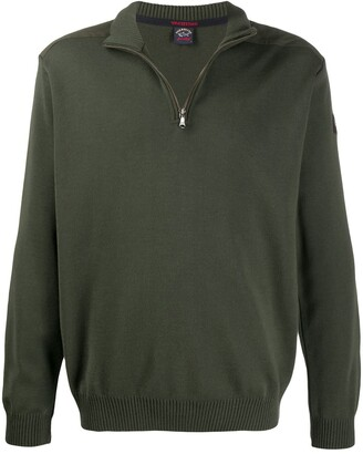 Paul & Shark half-zip sweater