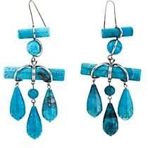Calvin Klein Women's Imitation-Turquoise Drop Earrings