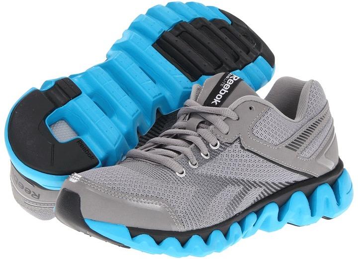 Reebok ZigLite Electrify (Tin Grey/Buzz Blue/Gravel) - Footwear