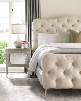 Caracole Ashleena Tufted California King Bed