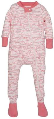 Burt's Bees Autumn Tree Organic Baby Zip Up Footed Pajamas